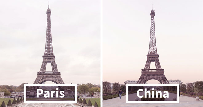 Duplicate france in china