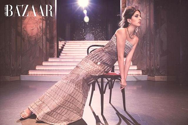 Supermodel Taleedah Tamer