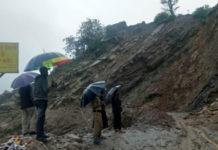 Kedarnath Highway in Dolia Devi