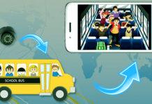 CCTV and GPS systems in school van