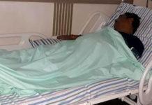 Tilak Raj behad injured in road accident