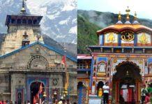 Kedarnath and Badrinath temple