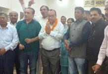 Jagmohan Mehandiratta to be declared the mayor candidate