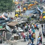 JCB again to demolish illegal construction in Premnagar