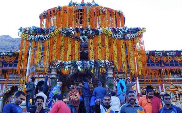 Badrinath Dham ke Kapat