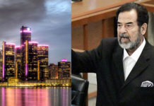 Detroit city key saddam hussein