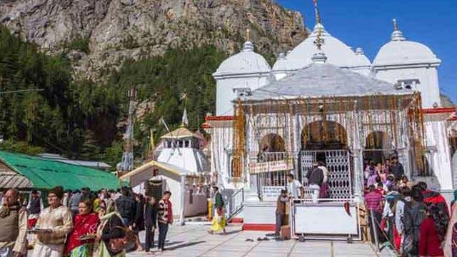 Gangotri dham kapaat Off for winter
