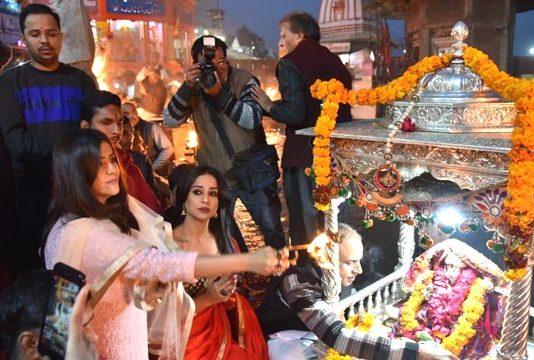 Ekta Kapoor and Mahi Gill