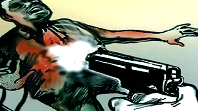Congress leader shot dead by bullets
