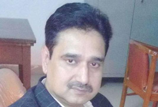 Former registrar Mrityunjay Mishra