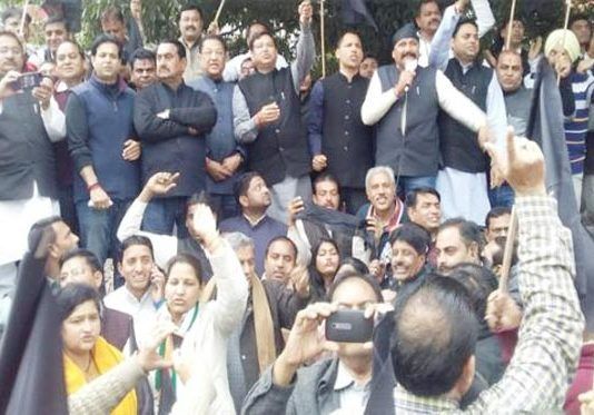 Congress protest against PM Modi