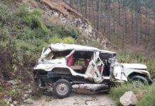 Max vehicle crashed at Rudraprayag