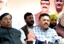 State Incharge Shyam Jaju