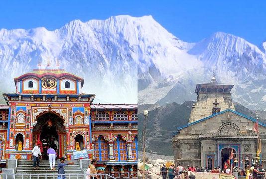 Badrinath-Kedarnath Temple Committee team